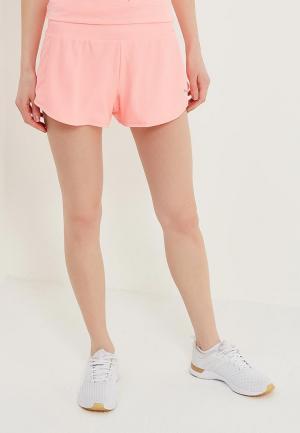 Шорты спортивные PUMA. Цвет: розовый
