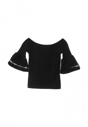 Блуза Miss Selfridge. Цвет: черный