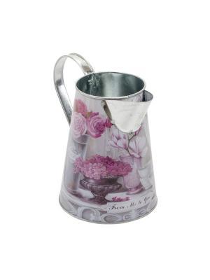 Кувшин Gift'n'Home. Цвет: молочный, бледно-розовый