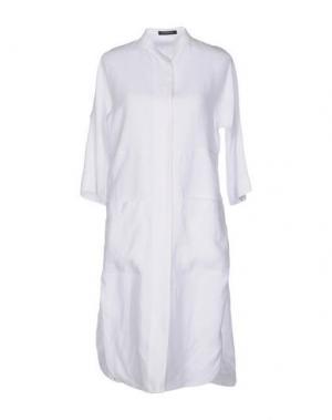 Платье до колена STRENESSE. Цвет: белый