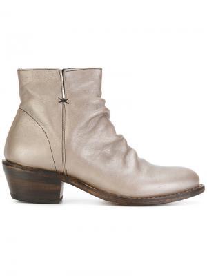 Ботинки по щиколотку Fiorentini +  Baker. Цвет: серый