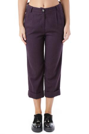 Pants Cristina Gavioli. Цвет: dark purple