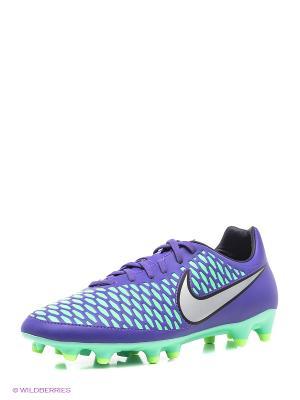 Бутсы MAGISTA ONDA FG Nike. Цвет: фиолетовый