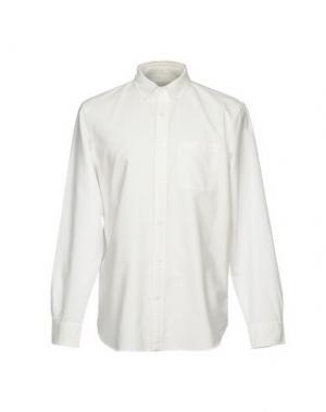 Pубашка CLUB MONACO. Цвет: белый