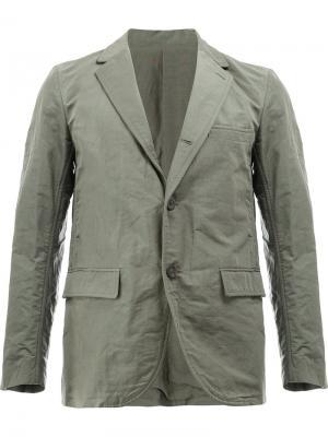 Пиджак в стиле кэжуал 08Sircus. Цвет: серый