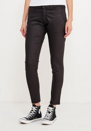 Брюки Pepe Jeans. Цвет: черный
