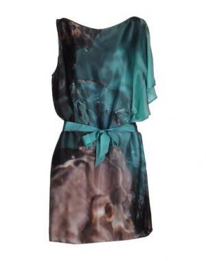 Короткое платье CRISTINAEFFE. Цвет: зеленый