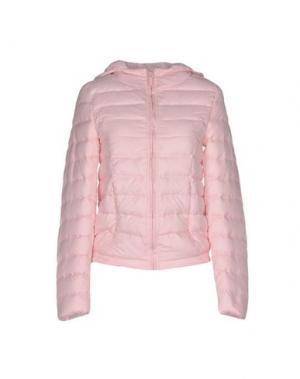 Куртка DUCK FARM. Цвет: светло-розовый