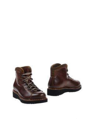 Полусапоги и высокие ботинки CHIARINI BOLOGNA. Цвет: какао