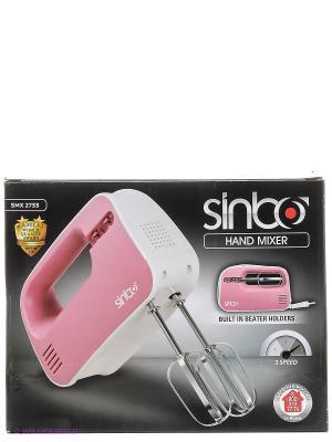 Миксер ручной Sinbo SMX 2733 красный 300Вт. Цвет: красный