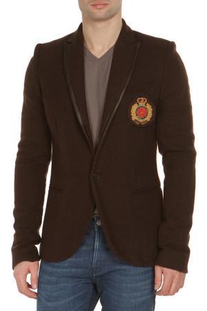 Пиджак JOIS. Цвет: коричневый