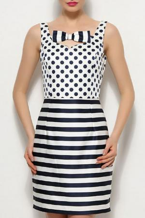 Платье Ludomara fashion. Цвет: белый
