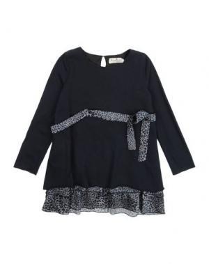 Платье LE PETIT COCO. Цвет: темно-синий