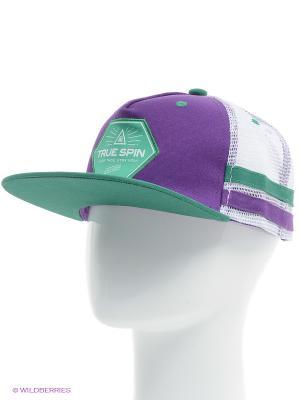 Бейсболка Sport Trucker True Spin. Цвет: фиолетовый