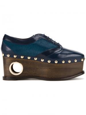 Туфли на шнуровке Loho Paloma Barceló. Цвет: синий