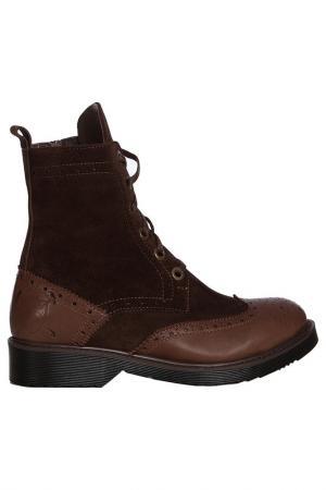 Ботинки Galvanni. Цвет: коричневый