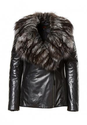 Куртка утепленная Grafinia. Цвет: черный