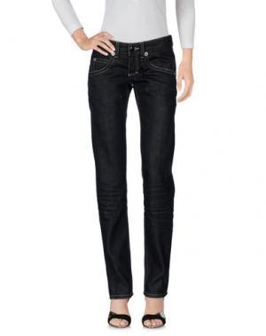 Джинсовые брюки RA-RE. Цвет: черный