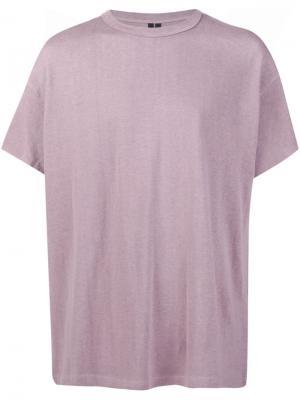 Классическая футболка Mr. Completely. Цвет: розовый и фиолетовый