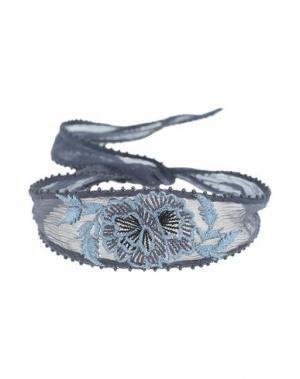 Ожерелье CHAN LUU. Цвет: стальной серый