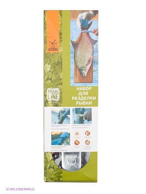 Набор для разделки Рыбки, EFGS-06S Экспедиция. Цвет: бежевый