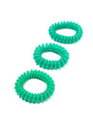 Резинка-браслет для волос Mitya Veselkov. Цвет: оливковый