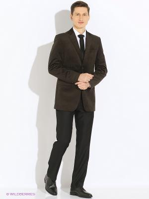 Пиджак Absolutex. Цвет: коричневый