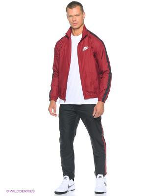 Спортивный костюм M NSW TRK SUIT WVN SEASON Nike. Цвет: красный