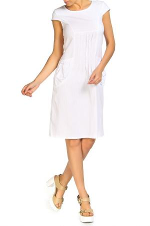 Платье Disetta. Цвет: белый