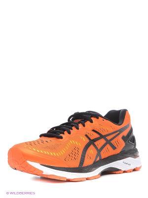 Спортивная обувь GEL-KAYANO 23 ASICS. Цвет: оранжевый, желтый, черный