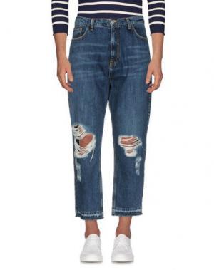 Джинсовые брюки CHOICE NICOLA PELINGA. Цвет: синий