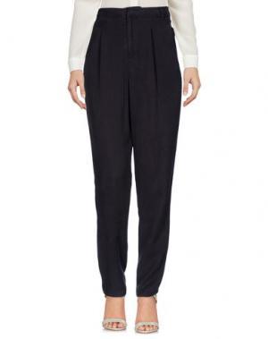 Повседневные брюки NICE THINGS by PALOMA S.. Цвет: свинцово-серый