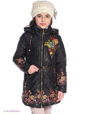 Пальто Steen Age. Цвет: черный