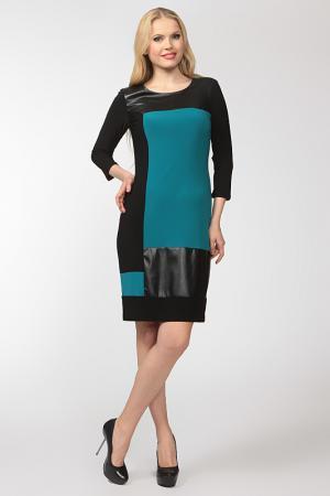 Платье Frank Lyman Design. Цвет: чёрно-бирюзовый