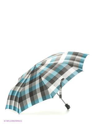 Зонт Labbra. Цвет: серый, голубой