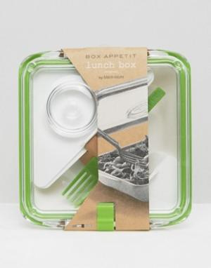 Black & Blum Коробка для ланча Box Appetit. Цвет: зеленый
