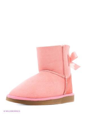 Угги 4U. Цвет: розовый