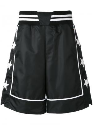 Спортивные шорты с контрастной отделкой Philipp Plein. Цвет: чёрный