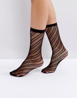 Jonathan Aston Черные носки. Цвет: черный