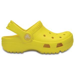 Сабо Kids Crocs Coast Clog. Цвет: желтый