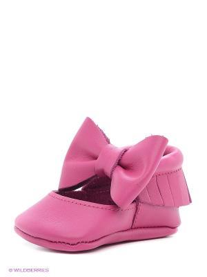 Пинетки U.S. Polo Assn.. Цвет: розовый