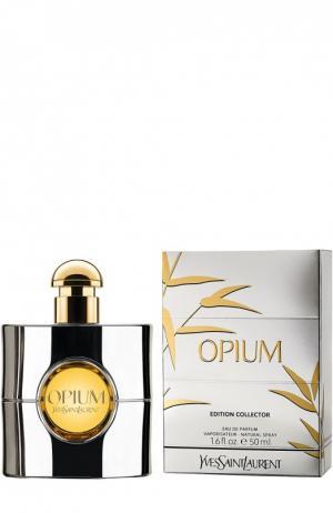 Парфюмерная вода Opium Silver Edition YSL. Цвет: бесцветный