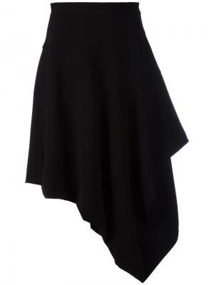 Асимметричная юбка J.W.Anderson. Цвет: чёрный