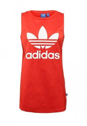 Майка adidas Originals. Цвет: красный