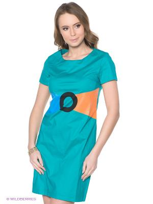 Платье Neohit. Цвет: бирюзовый