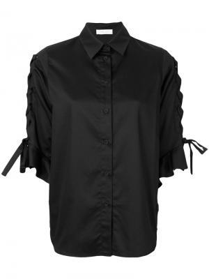 Рубашка Armley со шнуровкой Iro. Цвет: чёрный