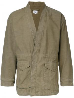 Куртка Noragi Gold / Toyo Enterprise. Цвет: зелёный