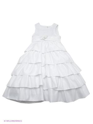 Платье Vitacci. Цвет: белый