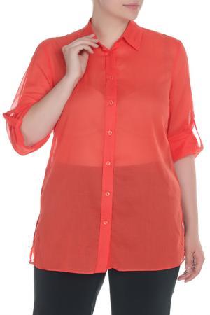 Рубашка Krizia. Цвет: оранжевый