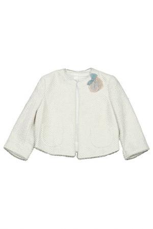 Пиджак Miss Blumarine. Цвет: светло-бежевый
